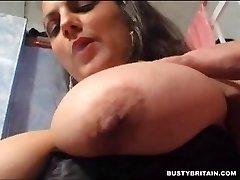 Biggest smoking tits