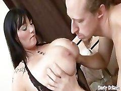 Big Meatballs BBW Simone Gets Melons & Cunt Fucked