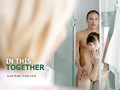 Luna Rival & Vicky Love in In This Together - StepmomLessons