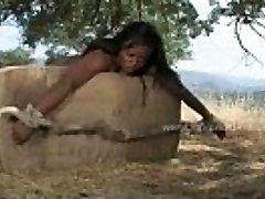 Black big-chested voluptous screaming slut