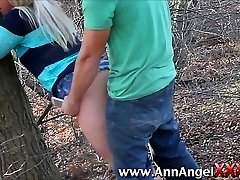 Plumb in the woods