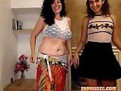 mother daughter webcam show -  (Twenty-one)