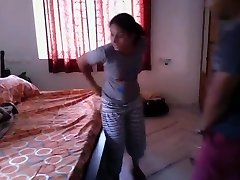 Sizzling Bengali girl quickie fuck with neighobour in her apartment