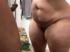 Super large milf blowing cock