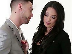 Smoking hot Anissa Kate drilled cruelly in Erotica X video