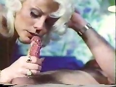 Vintage porn - blow-handjob - Jizz Lick
