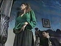 Sexy nymph in old school porn movie 1