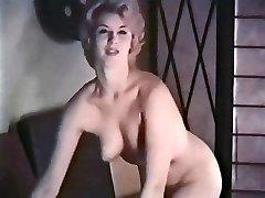 PERHAPS - vintage towheaded striptease stockings gloves