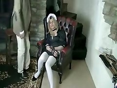 Fabulous inexperienced Stockings, Fetish sex clip