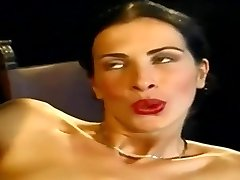Anal Invasion... Sexy Slim Italian Babe Wambammed On Stage... Antique