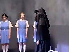 A group of teen babes in weird teen porn