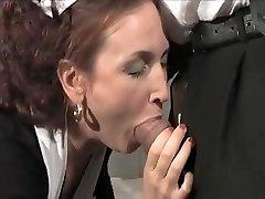 Best Brunette, Natural Tits romp clip