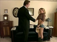 Barely Legal Age Nubile working on ranch opts for cowboy shlong