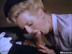 Porn Star Aunt Peg gives a boy a blowjob
