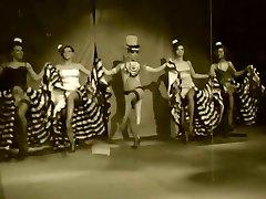 Burlesk-De-robe SHOW-Mega Mingle-23 Can-Can Retro