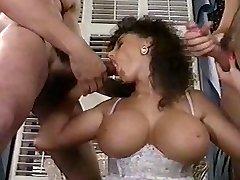 Sarah Young tit fuck and facial cumshot