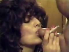 Retro Smoking Sucky-sucky & Cumshot