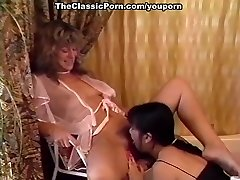 Pedicure and girl-girl cooch lick