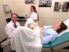 A real exam vid from a hairy mature nymph 2