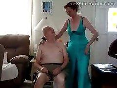 Aged grandma stripts
