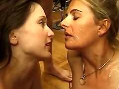French Mature group sex