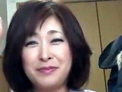 Japanese Plump Mature Internal Ejaculation Sayo Akagi 51years