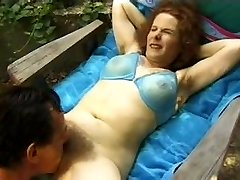 Unshaved MILF gets fucked