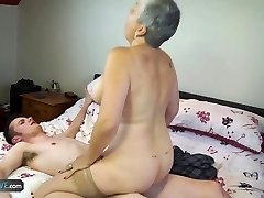 AGEDLOVE Granny Savana fucked with really firm stick