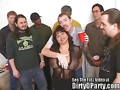 Susie's Gang Pound Bukkake Party With Sloppy D