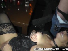 One wifey creamed by hundreds of dudes