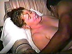 Mature Plumper BIG BLACK COCK Bonnie, hubby films