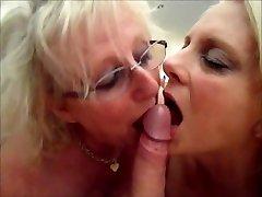mummy janet n wifey susie in'cum-swap' action