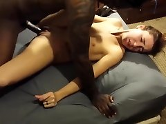 ULTRA-CUTE WIFE IN ECSTASY WITH HER FIRST BBC