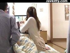 Asian Amateur Couple Watch Porn Together