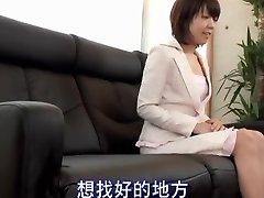 Titless Jap sweetie banged in spy cam Japanese hardcore video
