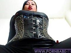 PornbabeTyra giving you jerk off command