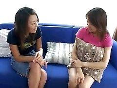 2 Asian Just Met Do Girly-girl