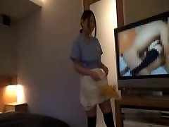 Asian Hotel Maid Getting Boinked