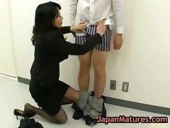 Natsumi kitahara asslicking some dude part1