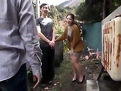 Japanese Teenie Night Outdoor Pussyfingering