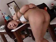 Spanking & Flagellating A  Japanese OL