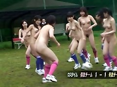 After a nude soccer game a blowjob is the hottest