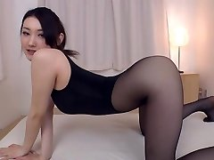 Pantyhose fetish she's blessed to indulge