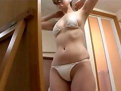 softcore chinese bikini ass massage