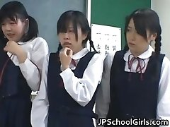 Japanese students in the classroom are partTwo