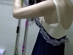 Chinese MILF Urinates, Showers, Vibes, and Humps.mp4
