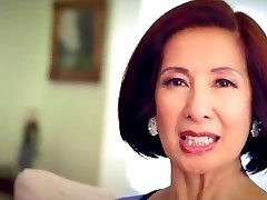 64 year elderly Milf Kim Anh talks about Anal Sex