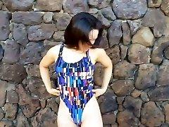 Swimsuit model gravure 02