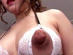 Poke the breast  m