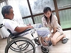japanese wife widow takes care of father in law  2